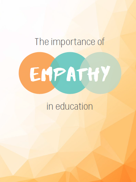 Book cover of 'The importance of Empathy in Education'