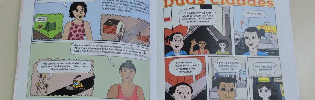 História em Quadrinhos do Confisco (EMEF Anne Frank)