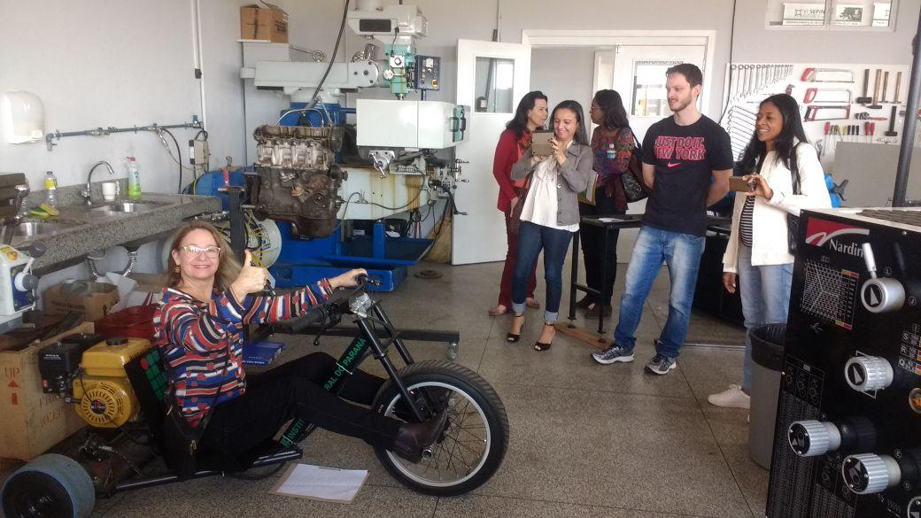 Imersão e visitas no IFPR Jacarezinho - Escolas Transformadoras