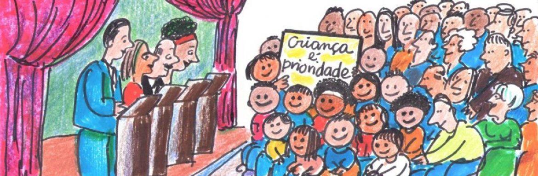 Campanha da Rede Nacional Primeira Infância mobiliza candidatos à prefeitura e eleitores em defesa dos direitos das crianças