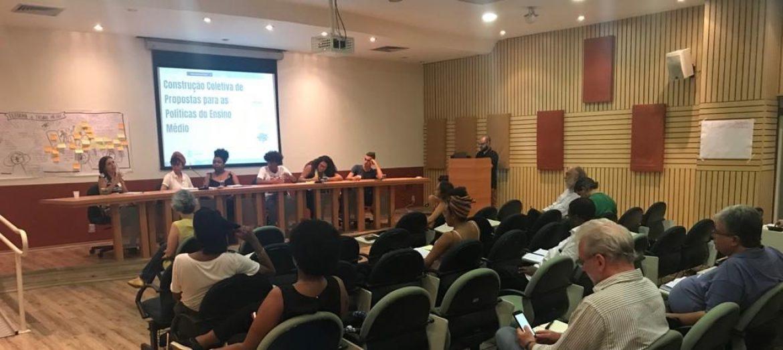 Ashoka lidera construção coletiva de propostas para as políticas do ensino médio