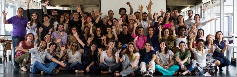 Comunidade do programa Escolas Transformadoras reúne-se para uma tarde de trabalho e co-criação
