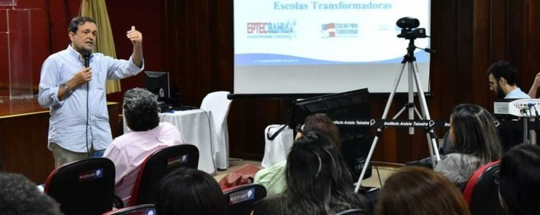 Gestores da Educação Profissional e Tecnológica fazem formação pelo Escolas Transformadoras
