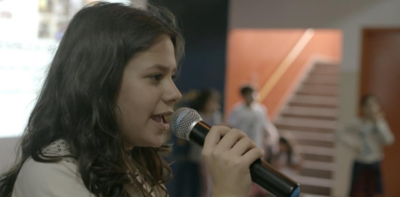 Raquel Franzim, co-coordenadora do Escolas Transformadoras, fala sobre 'Corações e Mentes' no programa 'Bom Para Todos'